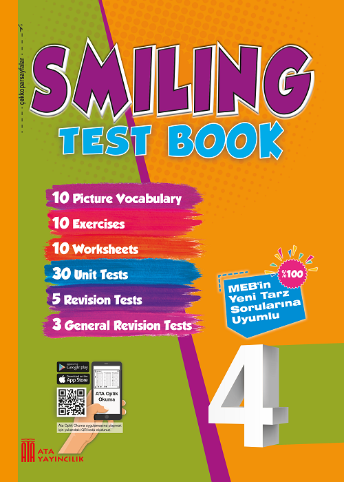 4. Sınıf Smiling Test Book