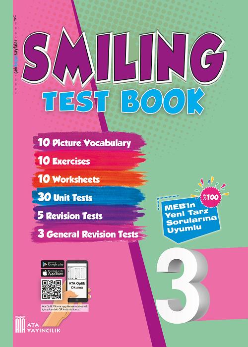 3. Sınıf Smiling Test Book