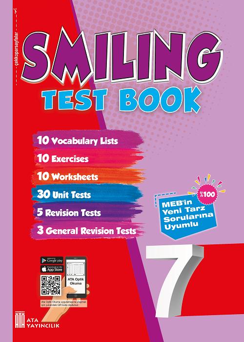 7. Sınıf Smiling Test Book